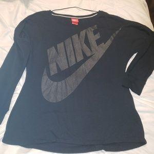 Black Nike athleisure top M. Like new!